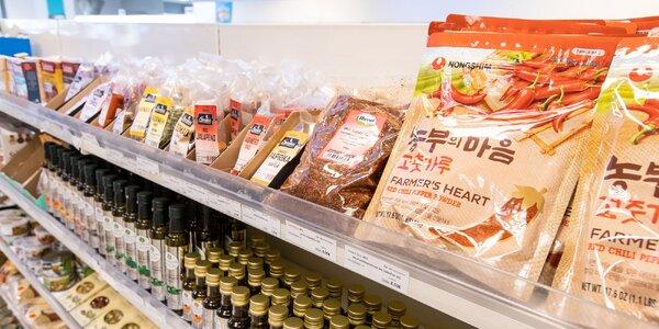 Poukážka na nákup orientálnych potravín v Seoul Palace