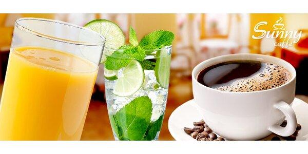 Miešané alko/nealko nápoje v Sunny Caffe