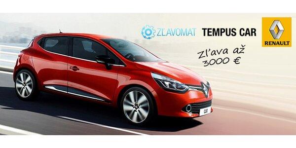 Nové autá od Renaultu s fantastickou zľavou