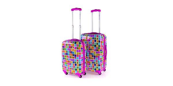 Set farebných kufrov Agatha Ruiz de la Prada