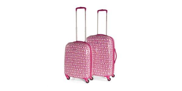 Set srdiečkových kufrov Agatha Ruiz de la Prada