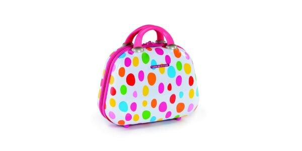 Malý cestovný kufrík s bodkami Agatha Ruiz de la Prada