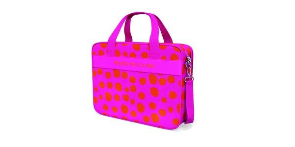 Ružová bodkovaná cestovná taška Agatha Ruiz de la Prada