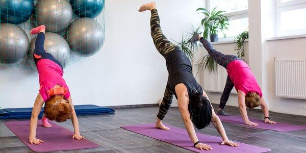 Cvičenia pilates alebo jogy s certifikovanými lektormi