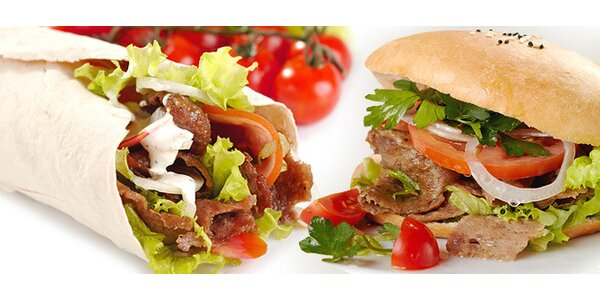 Kebab s pivom alebo kofolou na Kuchajde