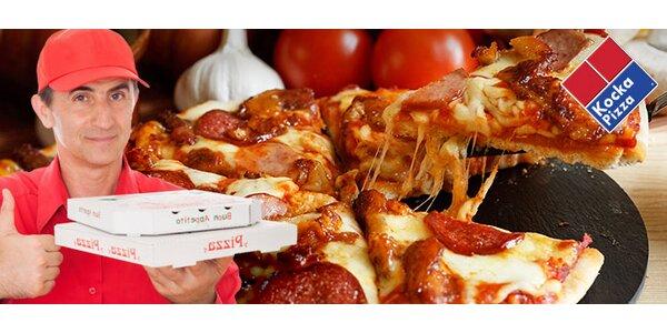 XL pizza s donáškou