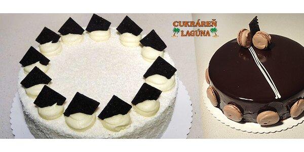 Exkluzívne francúzske torty z rodinnej cukrárne Lagúna