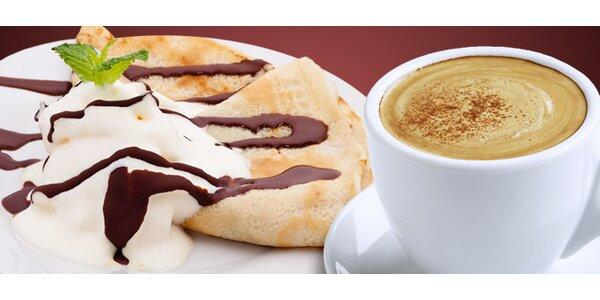 Palacinky a káva v Trinacria café