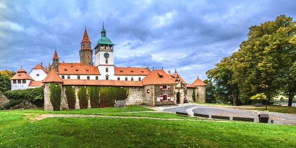 Medzinárodná výstava kvetov Flora Olomouc a návšteva zámku Bouzov