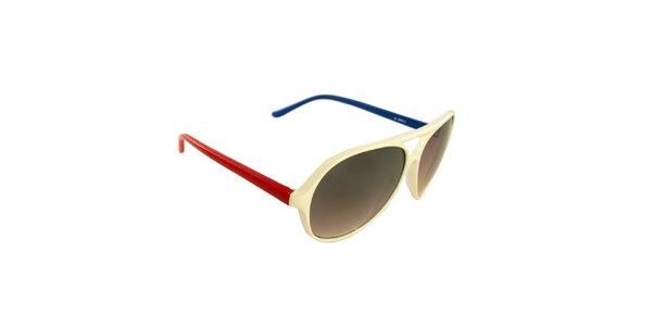 Dámske slonovinové slnečné okuliare Jeepers Peepers