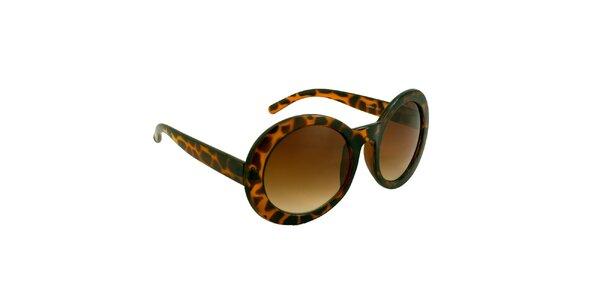 Dámske oválne korytnačie okuliare Jeepers Peepers