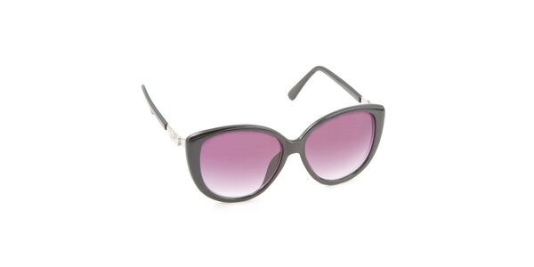 Dámske mačacie okuliare s fialovými sklami Jeepers Peepers