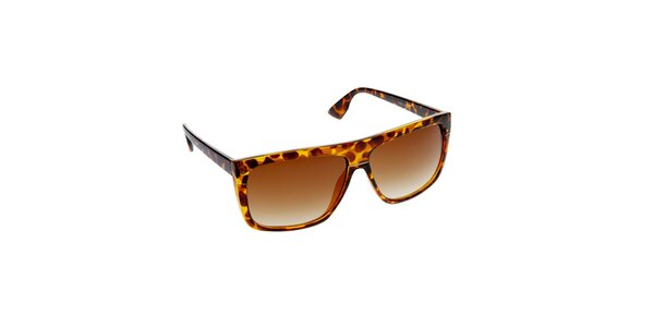 Dámske jantarovo-hnedé slnečné okuliare Jeepers Peepers