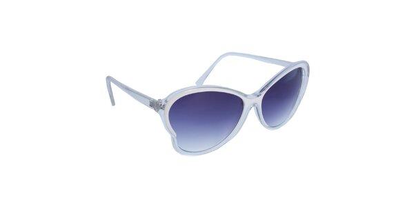 Dámske biele retro okuliare Jeepers Peepers