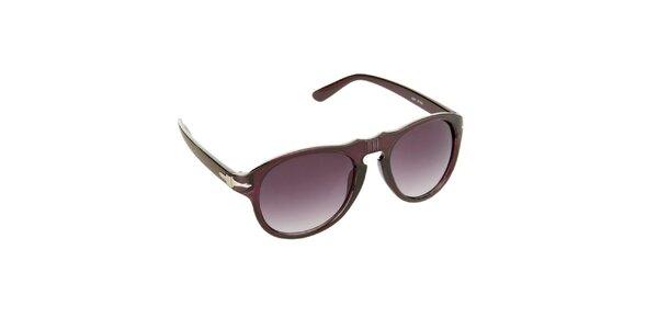 Dámske vínovo-fialové slnečné okuliare Jeepers Peepers