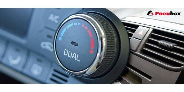 Dezinfekcia klimatizácie a kabíny vozidla ozónom
