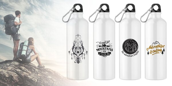 Štýlové a odolné turistické fľaše na vaše cesty