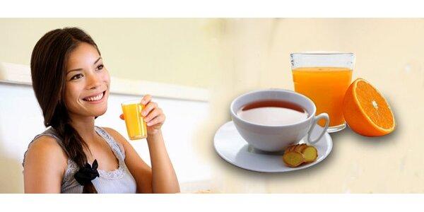 0,99 eur za 2dl čerstvej pomarančovej šťavy alebo čaj z čerstvého zázvoru…