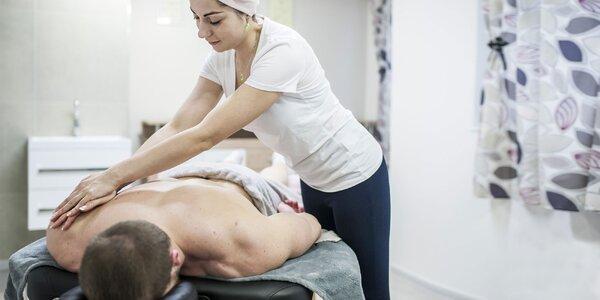 Bankovanie, klasická, olejová a relaxačná masáž či permanentka