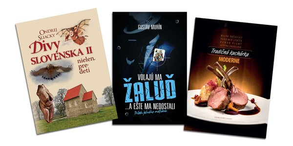 Knihy, z ktorých si vyberie naozaj každý!