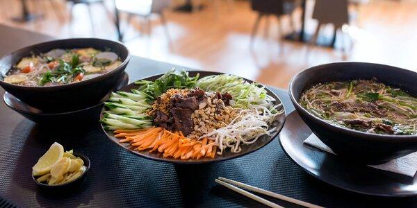 Ochutnajte pravé vietnamské polievky či rezance!