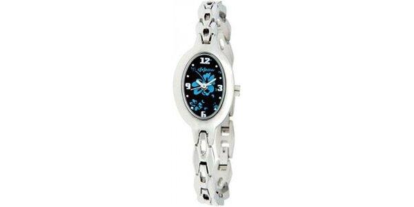 Dámske oceľové hodinky s oválnym ciferníkom Oxbow