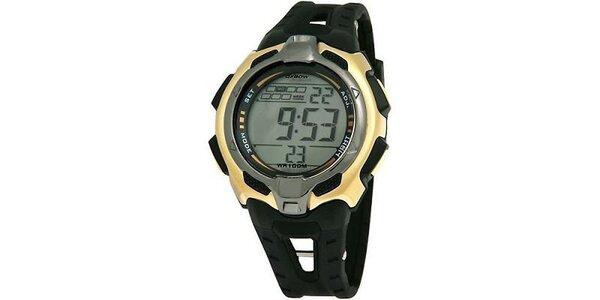 Čierne digitálne hodinky Oxbow