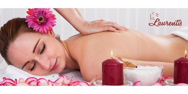 Letná tematická masáž v salóne Laurentis