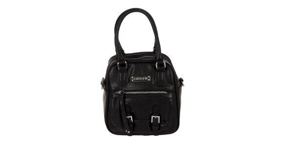 Dámska čierna kabelka s prackami Diesel
