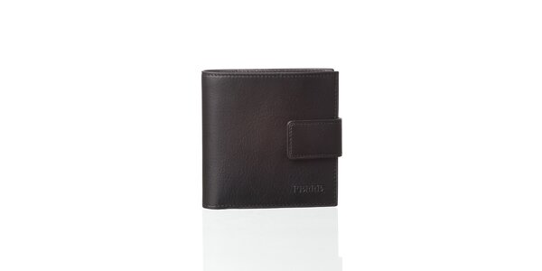 Čierna kožená peňaženka Gianfranco Ferré