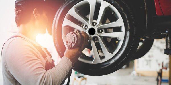 Výmena kolies či kompletné prezutie pneumatík v Nitre