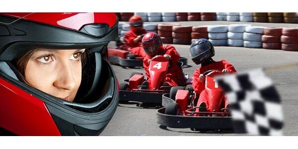 4,40 za adrenalínovú jazdu na motokárach