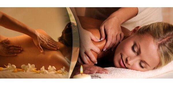 5,50 eur za klasickú masáž chrbta so zľavou 63%.