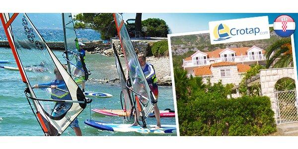 Dovolenka v Chorvátsku a kurz windsurfingu!