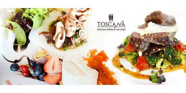 Exkluzívne talianske degustačné menu v hoteli Hilton****