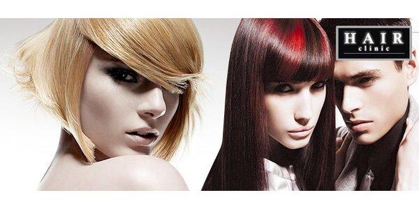 Strih alebo farbenie vlasov v Hair Clinic