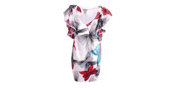 Dámske párty šaty s motýlim vzorom Miss Sixty