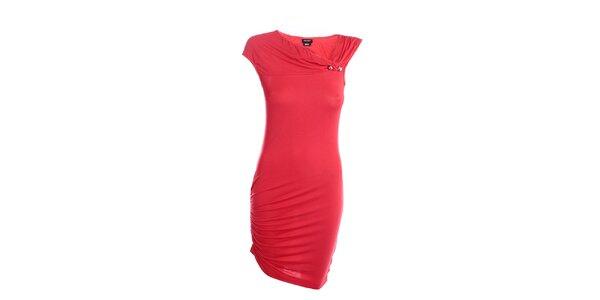 Dámske červené šaty Miss Sixty