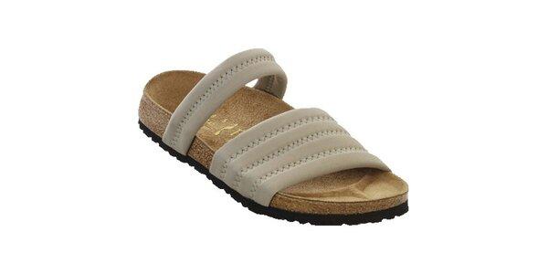 Dámske šedé papuče Papillio