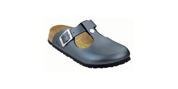 Dámske metalické papuče Papillio
