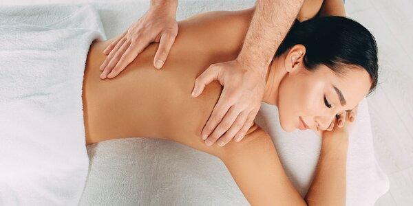 Zdravotná či relaxačná masáž: 30 alebo 45 min.