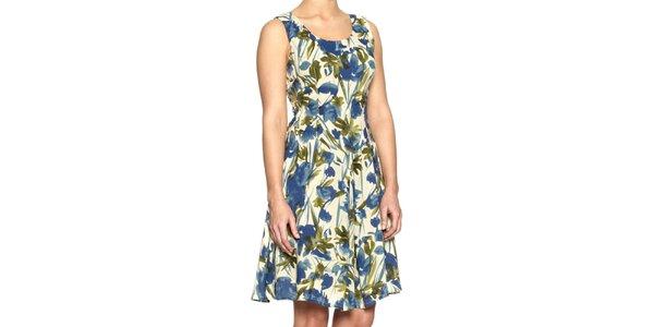 Dámske šaty s kvetinovým potiskom Fever