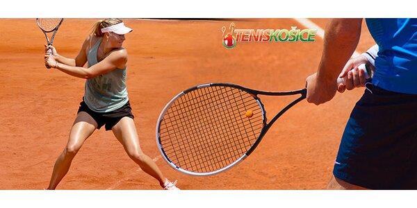 Tenis s profesionálnym trénerom– 1 alebo 5 hodín