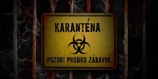 Zabavte sa doma: NOVÁ online escape hra Karanténa!