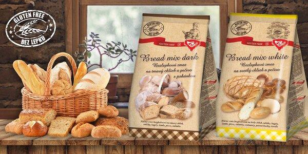 Bezlepkové zmesi na múčne jedlá, chlieb a rôzne cestá