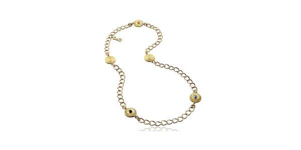 Dámsky orientálny náhrdelník zlatej farby Dolce & Gabbana