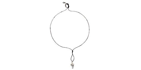 Dámsky náhrdelník s píšťaľkou Miss Sixty