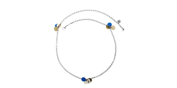 Dámsky náhrdelník s peniazkami Miss Sixty
