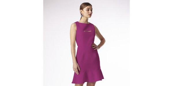 Dámske malinové šaty Emploi
