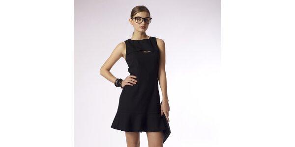 Dámske čierne šaty Emploi